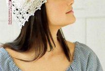 Шапки и шляпки ~ Caps, hats own hands / ... Головные уборы своими руками