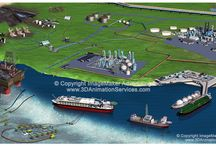 3D Rendering for Mining, Oil and Gas and Alternative Energy / 3D Rendering for Mining, Oil and Gas and Alternative Energy