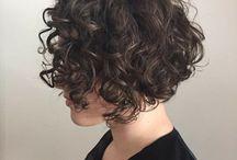 corte cabello rizado perfil