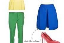 Colour Blocking - Inspiraciok