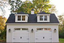 Garage and loft