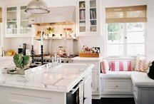HOME: KITCHEN/LAUNDRY/MUD ROOM / Some fantasy, some reality... ways we'd love to see our kitchen, laundry, and mud rooms look!