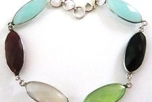 Chalcedony Jewellery / Chalcedony and sterling silver jewellery