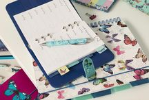 Flutterby Stationery / Come out of your cocoon and metamorphose your stationery collection with everything butterfly from folders, notebooks, pencil cases, sticky notes, bags, tape and more.