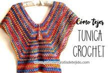 túnica a crochet