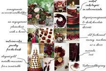 Marsala in Spring theme / inspiration for OUR party