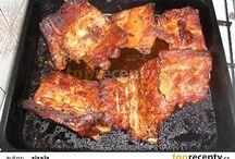 vaření maso