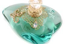 Vintage perfume bottles<3 / by ErisLee Geitner