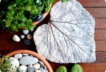 DIY art for gardens