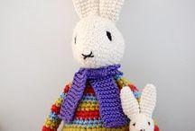 crochet baby legetøj