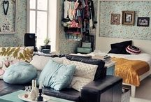One-Room flat decorating ideas