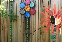 Whimsical garden ideas!