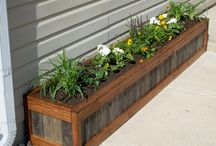 wooden planter ideas
