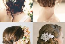 bridemade hair styles