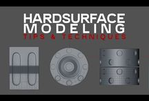 Hard Surface - Modeling Technics