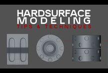 Hard Surface - Modeling Technics