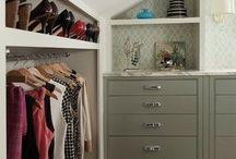 Slanted Ceiling Closet Ideas