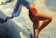 Pin ups and nose art / by D Scott