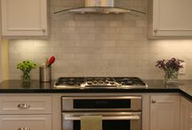 Kitchen and Dry Bar ideas / Appliances, countertops, backsplash, dry bar / by Dolores Gearhart