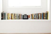 book shelf / by Emily Haslag