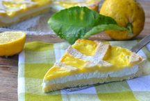Crostata con ricotta e crema al limone