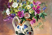 Anne Cotterill, flowers