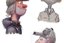 Character Design / Men