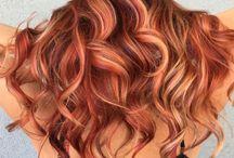 Макияж для волос