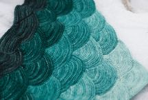 Kötött kendők / knitted shawl