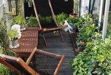 Altanliv / Urban balcony / Urban Garden / Smukke frodige altaner / Urban balcony garden / Small living