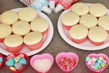 Mallie's valentines party