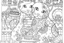 DIY Colouring Pages