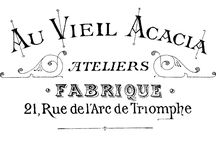 Vintage French clipart