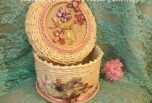 cestas de papel