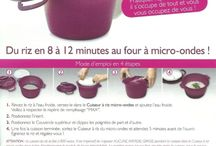 Fiche technique tupperware
