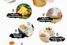 Como organizar uma dieta