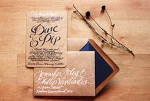 You're Invited  / A collection of some fab wedding invites / by Simply by Tamara Nicole
