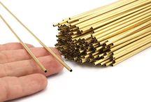 Himmeli Tubes for DIY / Himmeli Air Plant Holders, Himmeli Geometric Shapes, Tube Beads, Jewellery Findings
