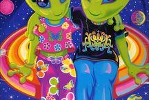 Lisa Frank omfg the colours