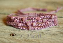 Szydełkowa biżuteria Crochet Jewelry