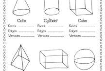 3 D Shapes.
