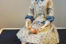 Dolls I have made / tekemiäni nukkeja