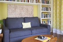 bookshelves for den