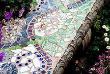 Mosaics - garden