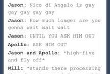 solangelo♥ / Nico+Will=♥