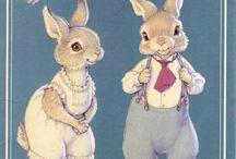 Paper Dolls - Hopper & Bushytail Families