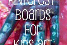 Kids crafts / by Elizabeth Jamerson
