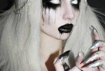 Halloween schminke