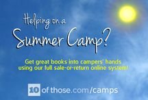 Summer Camp Ideas / We've asked a range of summer camp leaders for their top tips on running a bookstall at camp, and have added a few ideas of our own. Check out our full sale-or-return camp bookstall system at www.10ofthose.com/camps