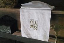 Goody Goforth Stitchery / My bags and table squares are all original, one of a kind designs. I have researched 17th century carvings along with the bags from Plimoth for my ideas.